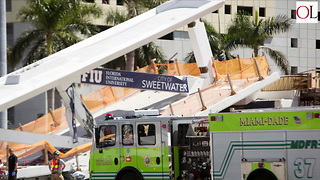 Several Killed When Foot Bridge Collapses At Florida University - Video