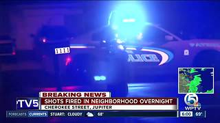 Shots fired in Jupiter neighborhood - Video