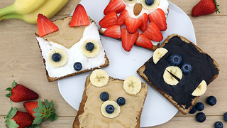 How to make tasty animal sandwiches - Video
