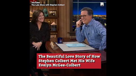 The Beautiful Love Story of How Stephen Colbert Met His Wife Evelyn McGee-Colbert