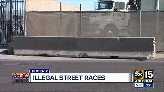 Illegal street races a problem in the Valley - Video