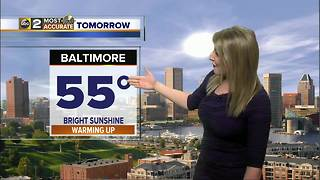 Maryland's Most Accurate Forecast - Quiet Weather - Video