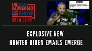 Explosive new Hunter Biden emails emerge - Dan Bongino Show Clips