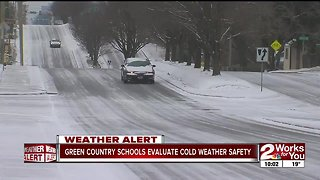 Green Country schools evaluate cold weather safety