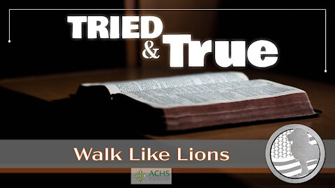 """Tried and True"" Walk Like Lions Christian Daily Devotion with Chappy Jan 21, 2021"