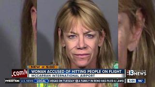 Passenger says he was punch by woman on American Airlines flight