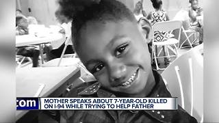 Mother of 7-year-old killed crossing I-94 says, 'She would help anybody' - Video
