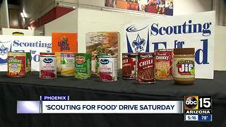 Boy Scouts holding food drive Saturday - Video