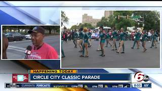 Preparations underway for Circle City Classic Parade - Video