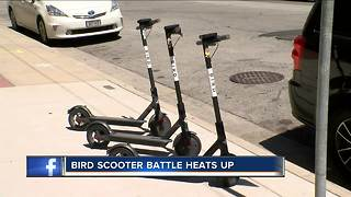 Milwaukee prepared to begin seizing Bird scooters as soon as possible - Video