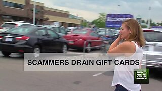 Scammers are draining store gift cards