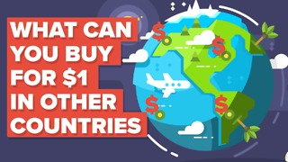 What a dollar gets you around the world - Video