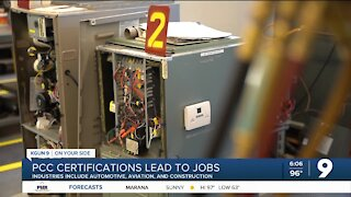 PCC offers certifications for jobs in demand