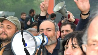 Armenian Opposition Leader Calls For More Protests Ahead Of Election - Video