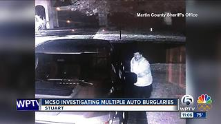 Multiple auto burglaries reported in Martins Crossing - Video