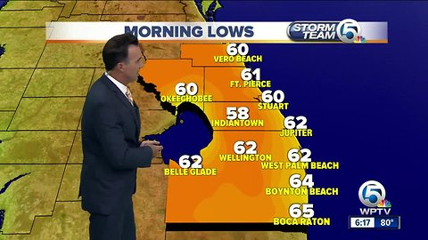 South Florida weather 2/16/19 - evening report