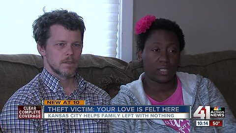 Family whose moving truck was stolen finds community in KC