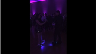 Newlyweds Surprise Guests With High-Tech Wedding Dance