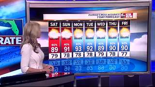 Florida's Most Accurate Forecast with Shay Ryan on Friday, September 1, 2017 - Video