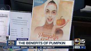 A pumpkin facial? It reportedly has some benefits - Video