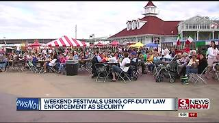 Weekend festivals conscious of security concerns - Video