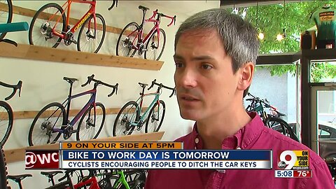 Bike to Work Day is Friday