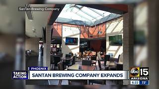 SanTan Brewing company opens new location in Phoenix - Video
