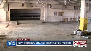 Federal shutdown stalling historic downtown project