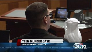 Trial begins for man accused of killing 13-year-old stepdaughter - Video