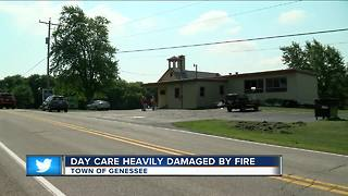 Fire causes substantial damage to Waukesha County daycare - Video