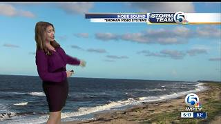 Saturday evening weather - Video