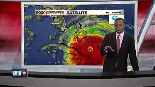 Hurricane Irma Update Friday 5pm - Video
