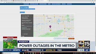 Thousands without power in the Valley