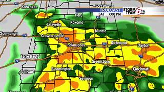 Saturday rain/storms then dry Sunday. - Video