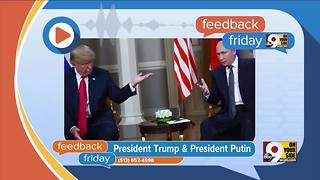 Feedback Friday: Putin on the Ritz - Video