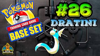 Pokemon Base Set #26 Dratini | Card Vault