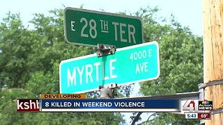 KC rattled after violent holiday weekend - Video
