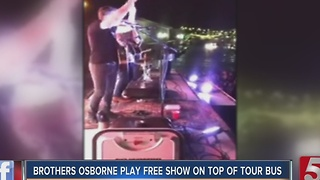 Brothers Osborne Play On Despite Venue Issues - Video