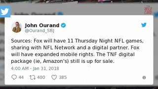 """Thursday Night Football"" Will Be Switched To Fox Sports - Video"
