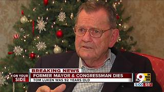 Tom Luken, former mayor and congressman, dies - Video