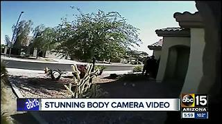 BODY CAM: Buckeye police release video of officer-involved shooting - Video