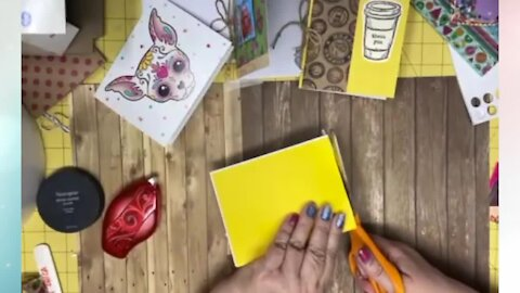 Learn how to make your own creative journal with Crafty Chica