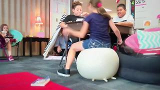 'Flexible seating' helps kids focus in school | Digital Short - Video