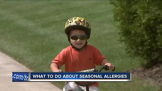 What to do about seasonal allergies - Video