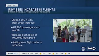 Travel on the rise during the pandemic this holiday
