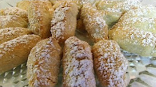 Betty's buttery finger cookies - Video