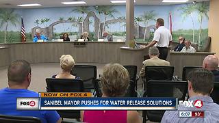 Sanibel mayor pushes for solutions to releases - Video