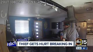 Police looking for man who bloodied himself in Phoenix burglary - Video