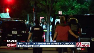 Saturday night protests in Omaha remain peaceful