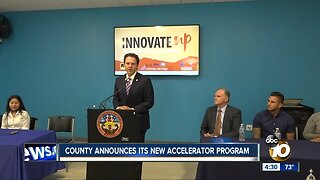 County announces new accelerator program